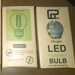 LED E12 BULB - 6 PACK   2W Dimmable Fancy 300LM